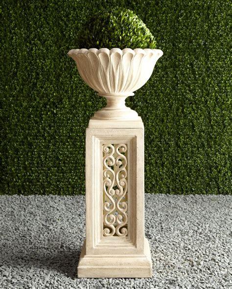 117 best images about outdoor flower pots pedestals on