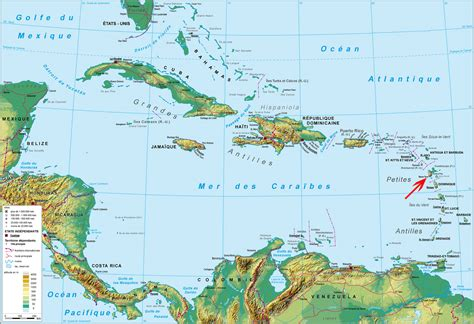Martinique Carte Monde by Carte Du Monde Guadeloupe Martinique Voyages Cartes