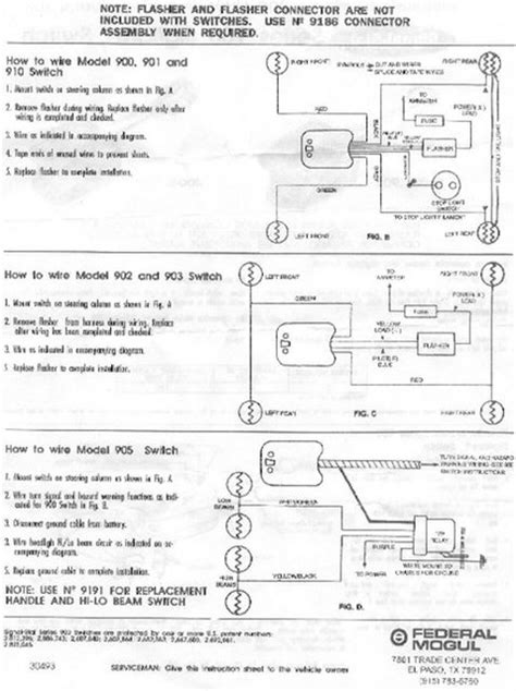 Technical How Wire Guide Turn Signal Switch