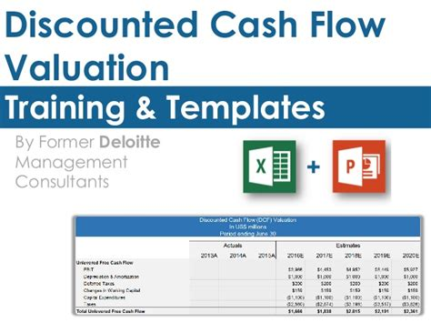 Discounted Cash Flow Valuation Template