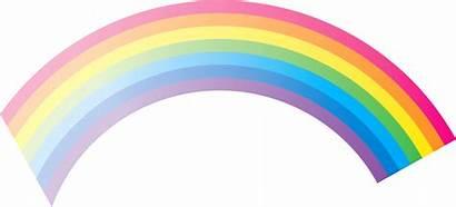 Rainbow Transparent Cartoon Rainbows Background Clipart Weather