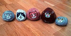Steine Bemalen Katze : steine ~ Watch28wear.com Haus und Dekorationen