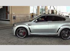 BMW X6 M with Hamann body kit and AC Schnitzer rims & BMW