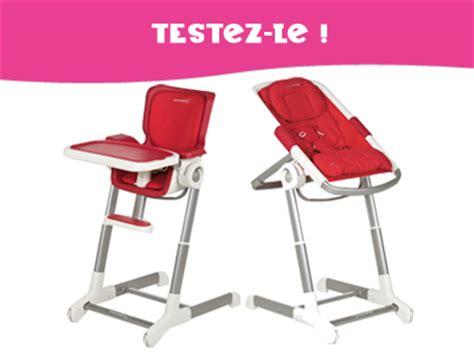 transat chaise haute bebe testez pour enfant magazine ce mois ci un ensemble transat chaise haute keyo de b 233 b 233 confort