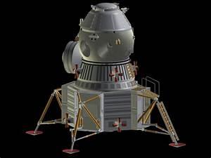 Model of Soviet Lunar Lander - Pics about space