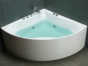 Grande Baignoire D Angle : baignoire baln o design larissa 2 places 150 150 h64cm ~ Edinachiropracticcenter.com Idées de Décoration