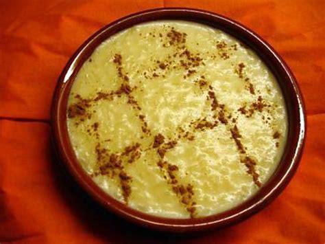 recette d arroz doce branco riz au lait recette portugaise