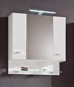 Badschrank Mit Spiegel : badschrank barolo spiegelschrank mit beleuchtung dekor wei ebay ~ Markanthonyermac.com Haus und Dekorationen