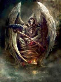 Death Grim Reaper Angel