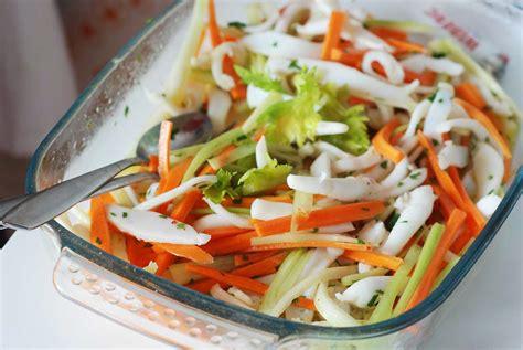 polpo insalata sedano insalata di polpo sedano e carote