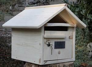 Boites Aux Lettres Originales : boite aux lettres bois maillat 1 porte bo te au lettre ~ Dailycaller-alerts.com Idées de Décoration