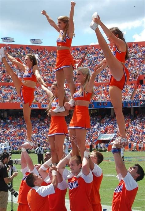 17 Best Images About College Cheerleaders On Pinterest