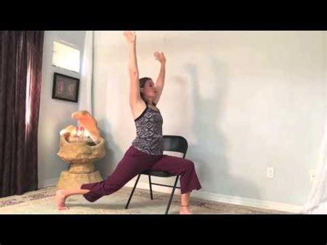 gentle chair yoga practice youtube