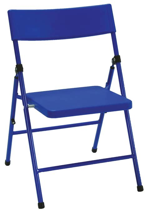 cosco products cosco kid s pinch free folding chair blue