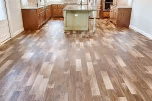 tile floor made to look like wood for the home