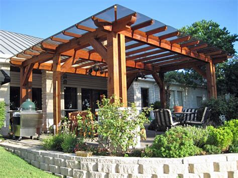 20 beautiful covered patio ideas patio trellis wood