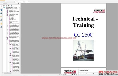 Terex Crane Wiring Diagrams Engine Diagram Images
