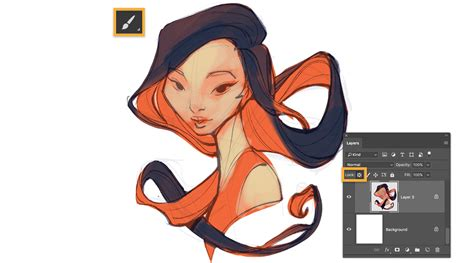 learn how to create a digital painting adobe photoshop