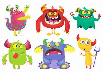 Monster Monsters Cartoon Troll Vector Ghost Goblin