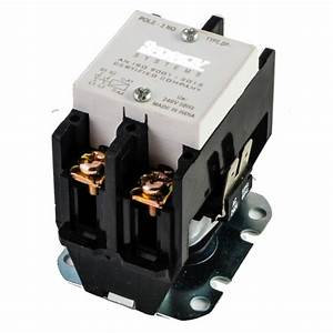 40amps Double Pole Contactor For On  Off Control Of Loads