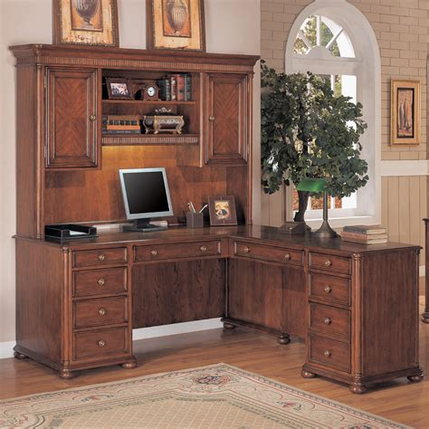rustic wood corner desk rustic l shaped wood desk with hutch and bookshelf plus