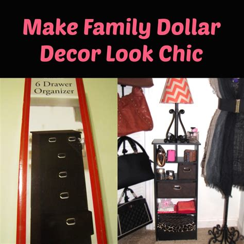 How to Make Family Dollar Decor Look Chic