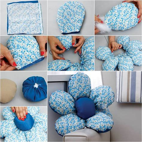 Soft Sofa Cushions by Creative Ideas Diy Pretty Fleece Flower Petal Pillows