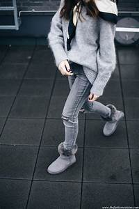 Wear With Gray Uggs