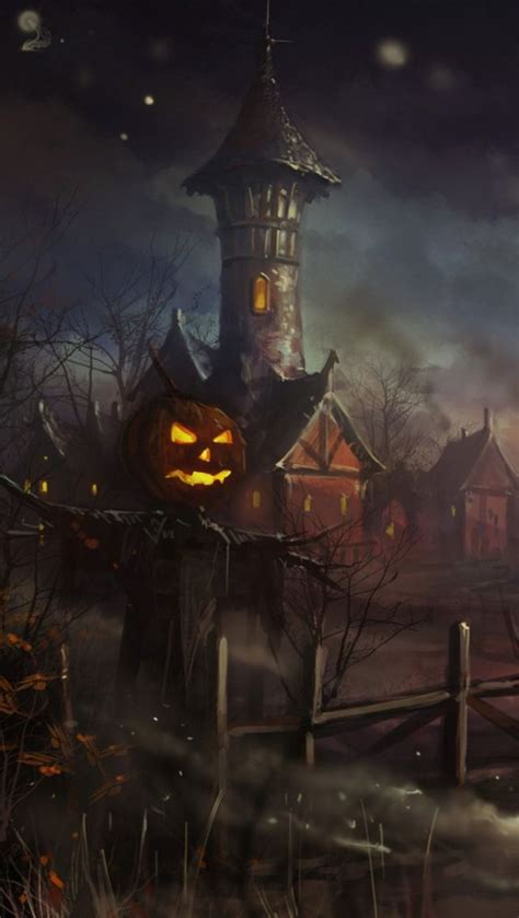 Halloween live wallpaper by blackbird wallpapers has two different creepy backgrounds to choose from. Halloween Wallpaper Phone - Scary Halloween Facebook Cover - 640x1134 - Download HD Wallpaper ...