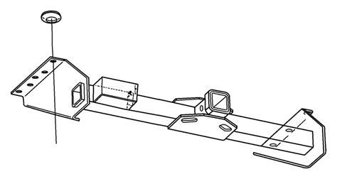 2001 dodge ram 2500 rec kit trailer tow wiring rear mopar hitch 82213569 mopar parts inc