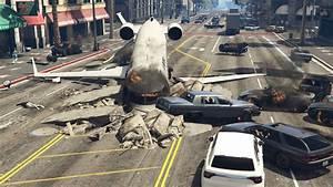 GTA V's Planes Now Crash Dynamically (Mod) - GTA 5 Cheats