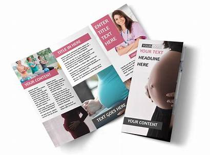 Pregnancy Brochure Counseling Template Tri Fold Brochures