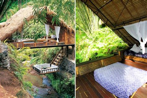 Bali's Panchoran Retreat Is Built Using Old Telephone Poles