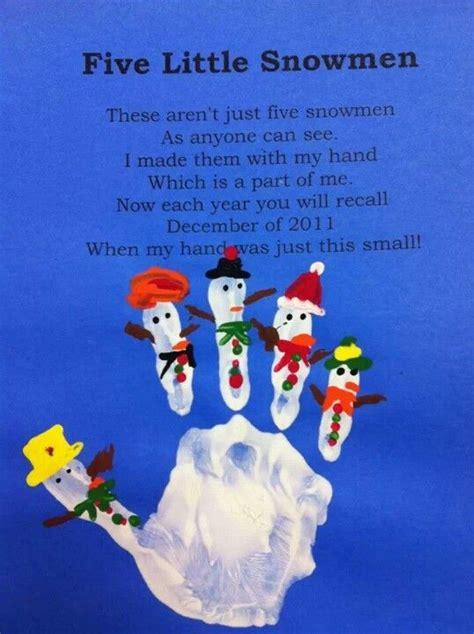 snowman handprints winter crafts  kids christmas