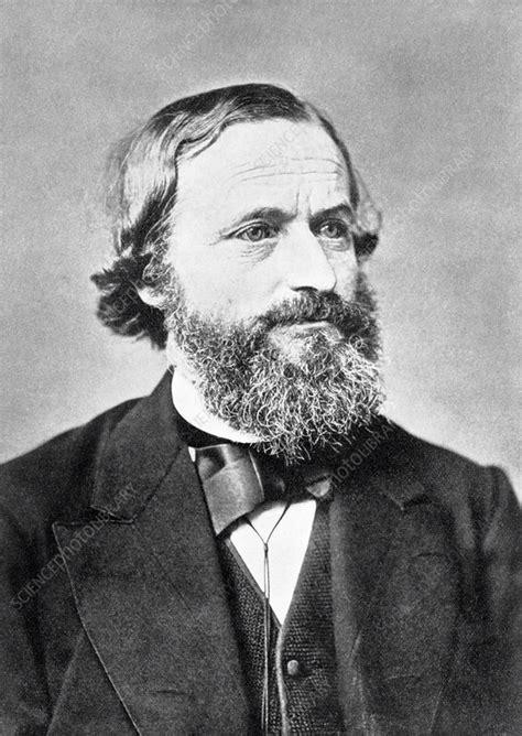 Gustav Kirchhoff, German physicist - Stock Image - H411 ...