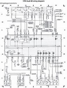 The 1992 Audi 80 Wiring Diagram