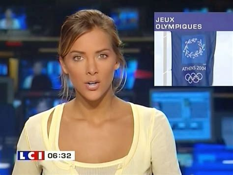 24 X 7 Journalisn Mélissa Theuriau Is A French Journalist