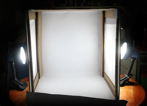 how to make a light box for pictures how to create an inexpensive photography lightbox 15 steps