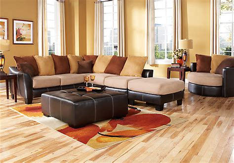 rooms to go living room furniture suttons bay beige 4 pc sectional living room living room