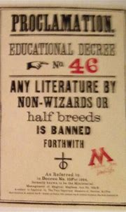 Educational Decree Number Forty-Six | Harry Potter Wiki ...
