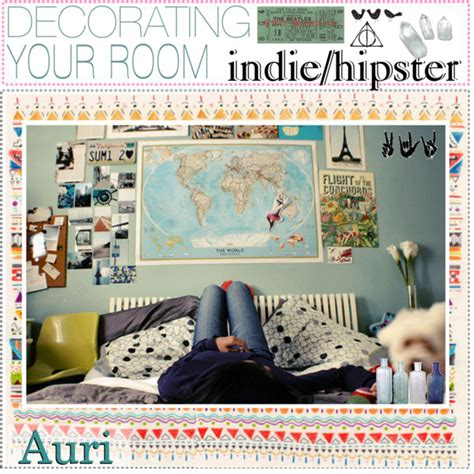 decorating your room indie hipster polyvore