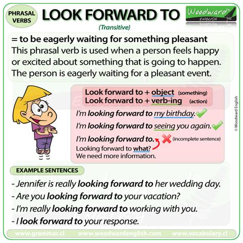 Verb Scow Meaning by Look Forward To Phrasal Verb Meanings And Exles