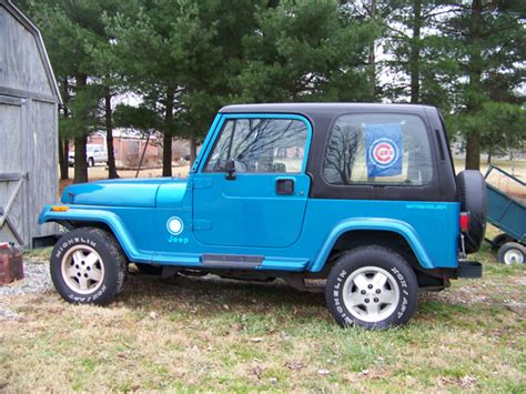 turquoise jeep cj sija view topic 1993 jeep wrangler sport