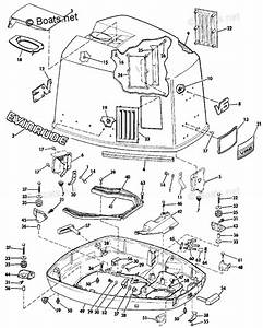 Evinrude Outboard Parts By Hp 150hp Oem Parts Diagram For