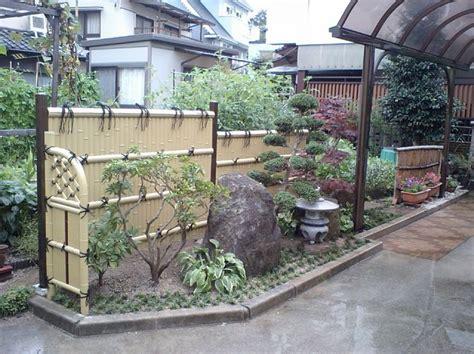 japanese garden fence japanese garden bamboo fence japanese gardens pinterest