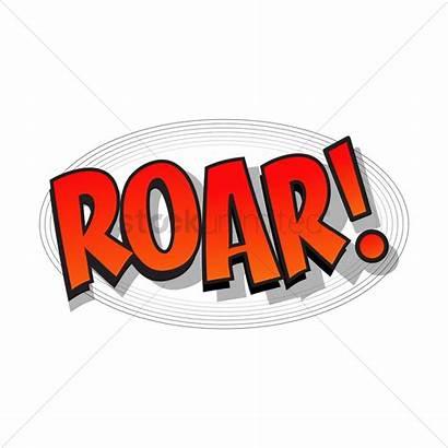 Roar Bubble Comic Vector Clipart Stockunlimited Graphic