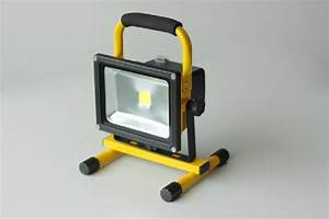 W rechargeable led floodlight for f c a forcate
