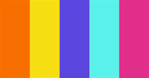 Childish Glee Color Scheme » Aqua » SchemeColor.com