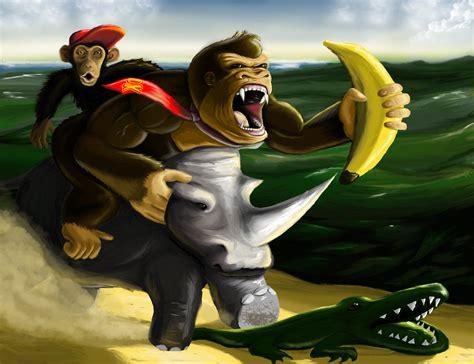 Donkey Kong By Vylent On Newgrounds