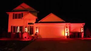 Orange flood lights bocawebcam